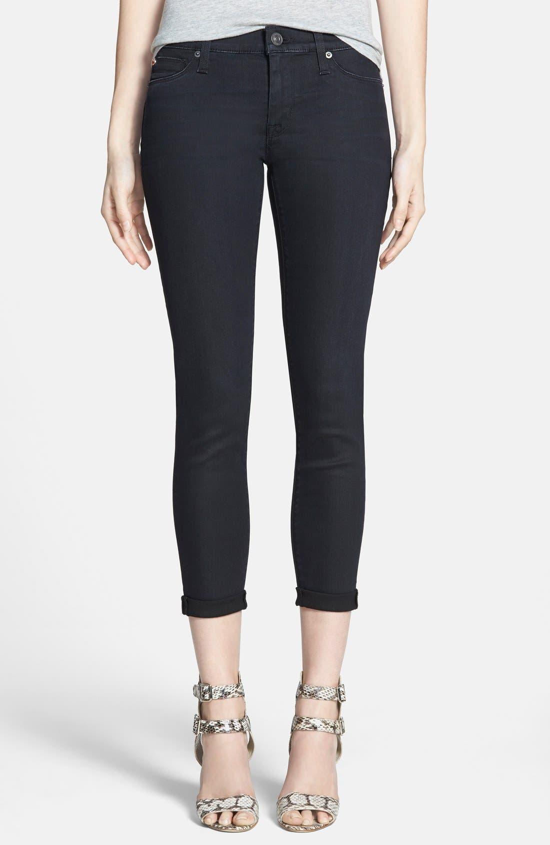 Alternate Image 1 Selected - Hudson Jeans 'Harkin' Skinny Jeans (Shrine)
