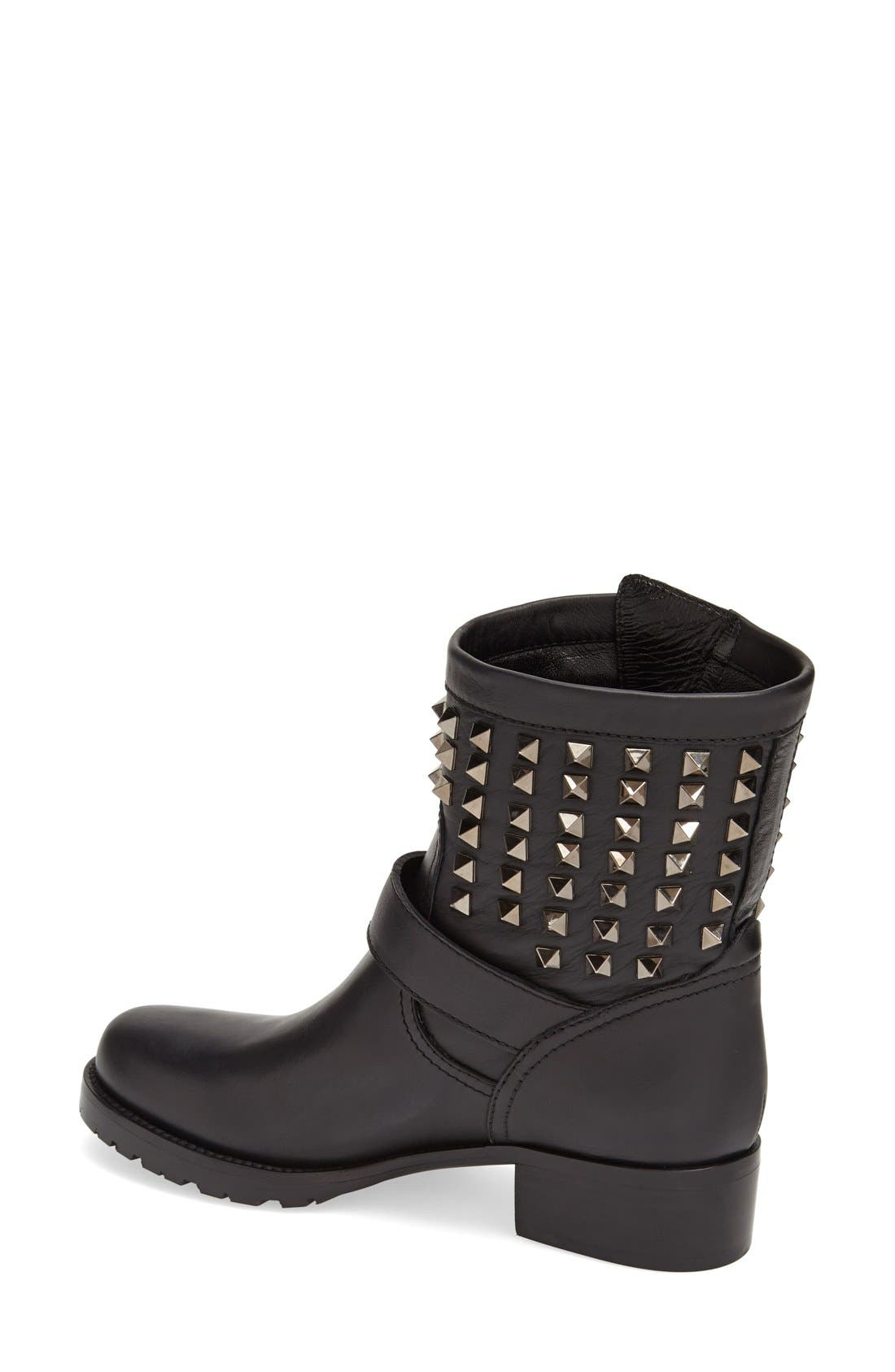 Alternate Image 2  - Valentino 'Rockstud' Biker Boot