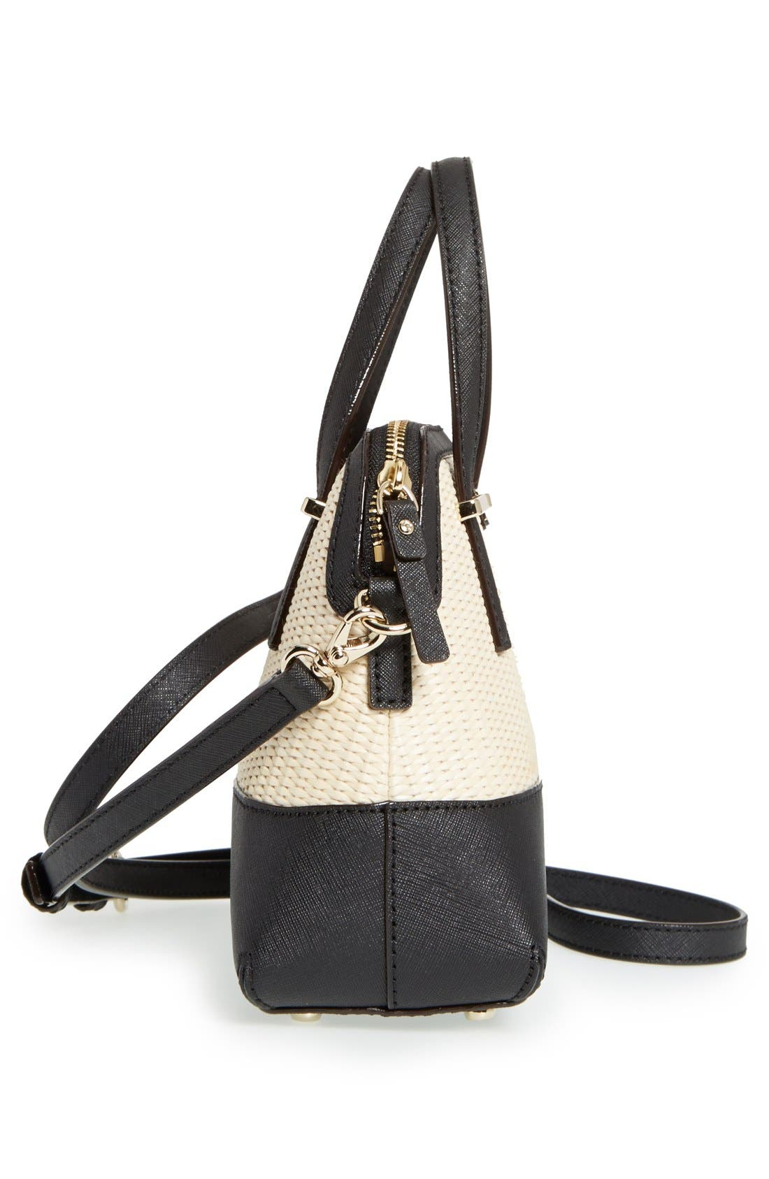 Alternate Image 5  - kate spade new york 'cedar street straw - small maise' satchel
