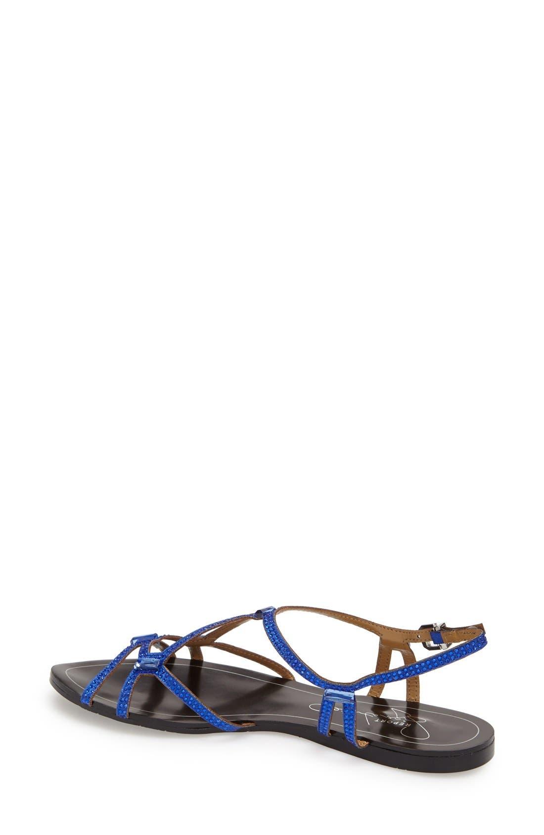Alternate Image 4  - REPORT Signature 'Sarasota' Crystal Embellished Sandal (Women)