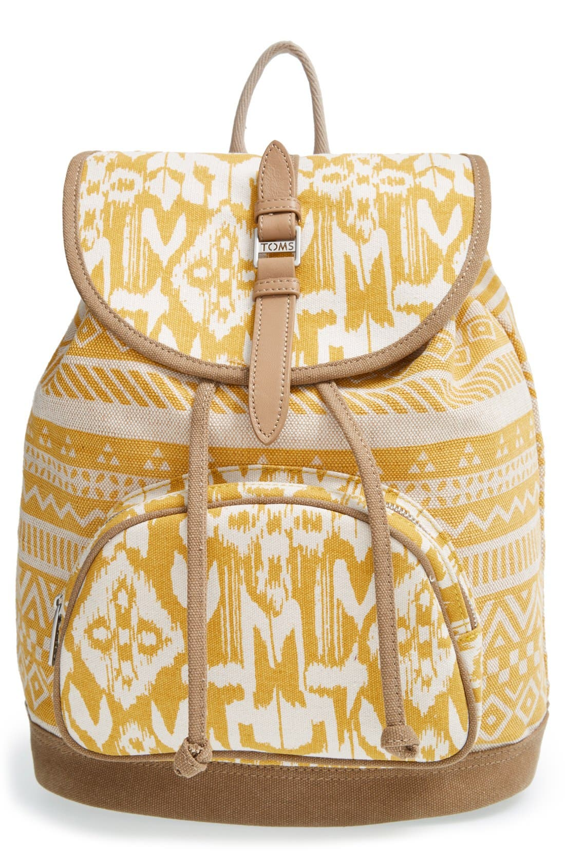 Main Image - TOMS 'Traveler' Canvas Backpack