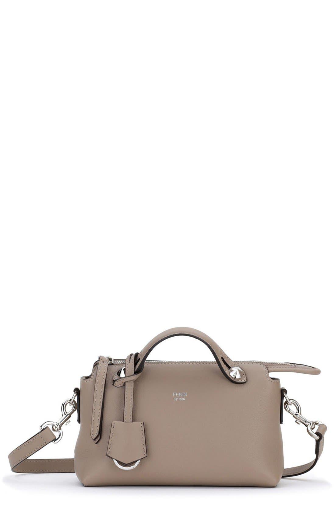Main Image - Fendi 'Mini By the Way' Convertible Leather Crossbody Bag