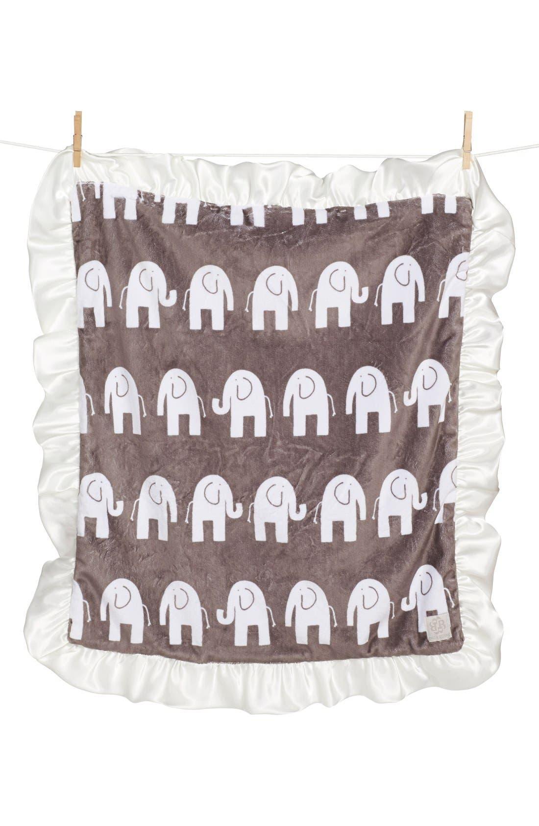 Alternate Image 1 Selected - Bella Tunno Satin Trim Snuggle Blanket