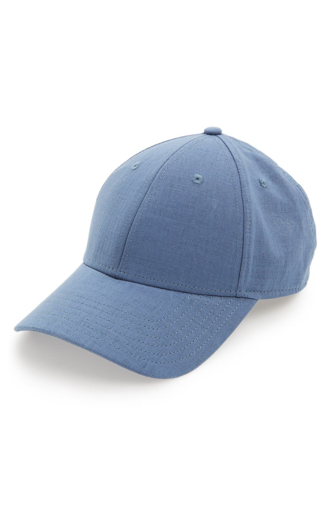 Gents Cotton & Linen Baseball Cap