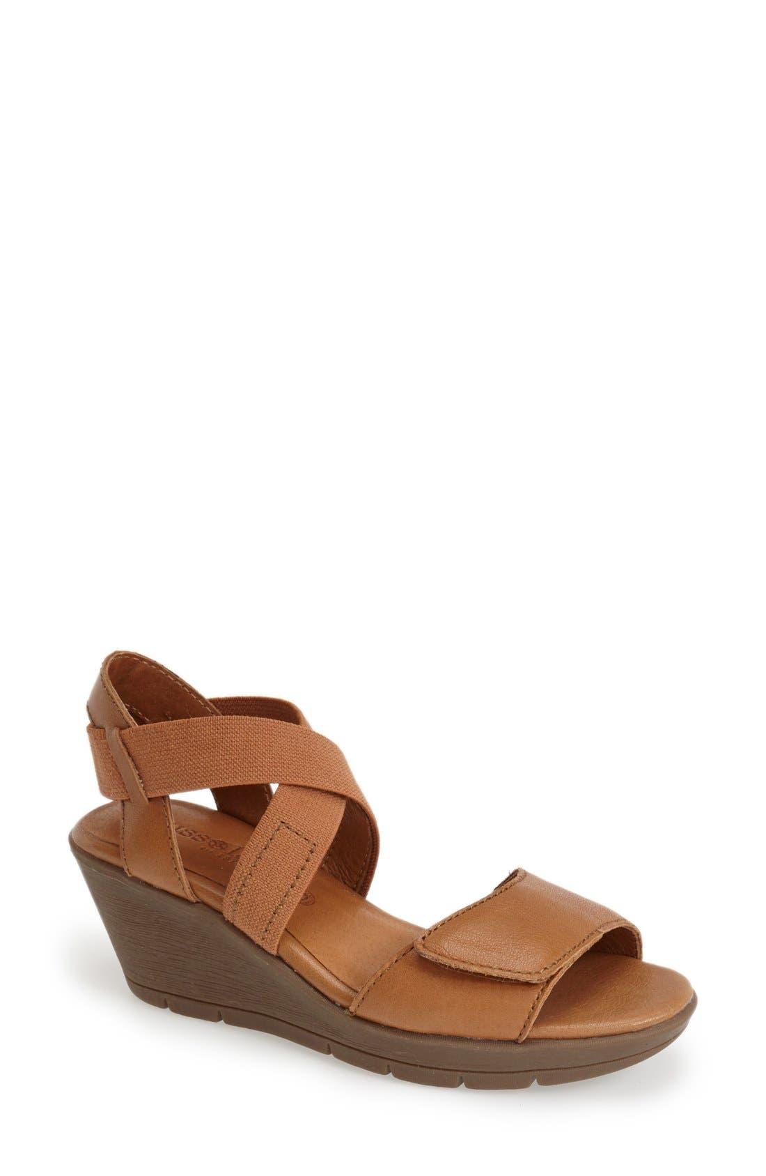 Alternate Image 1 Selected - Bussola 'Zumaia' Wedge Sandal (Women)
