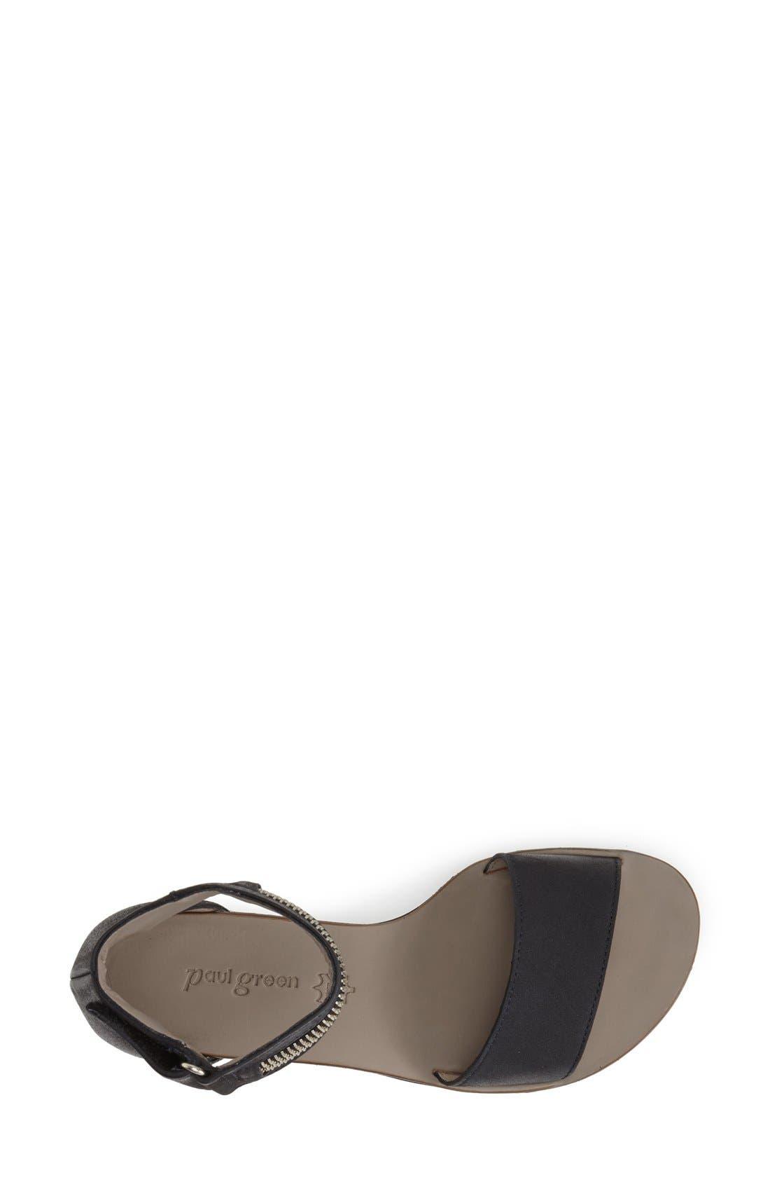 Alternate Image 3  - Paul Green 'Cotie' Ankle Strap Flat Sandal (Women)