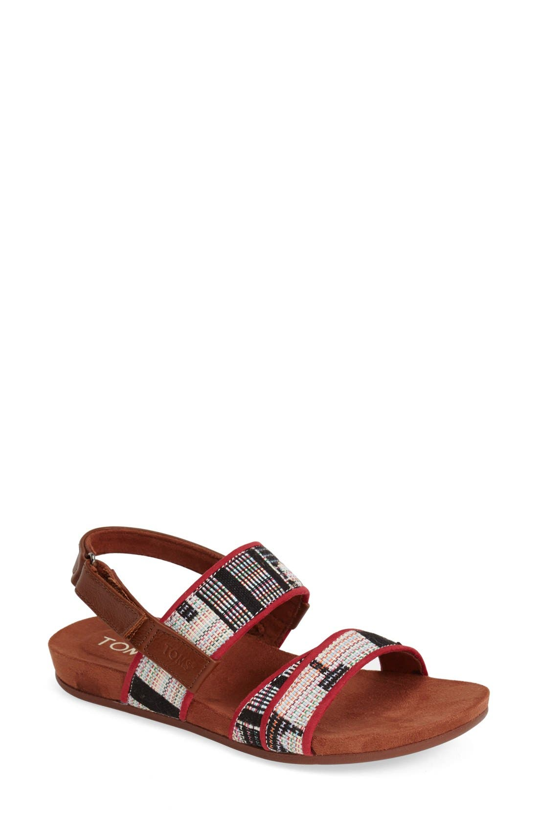 Alternate Image 1 Selected - TOMS 'Tierra' Woven Sandal (Women)