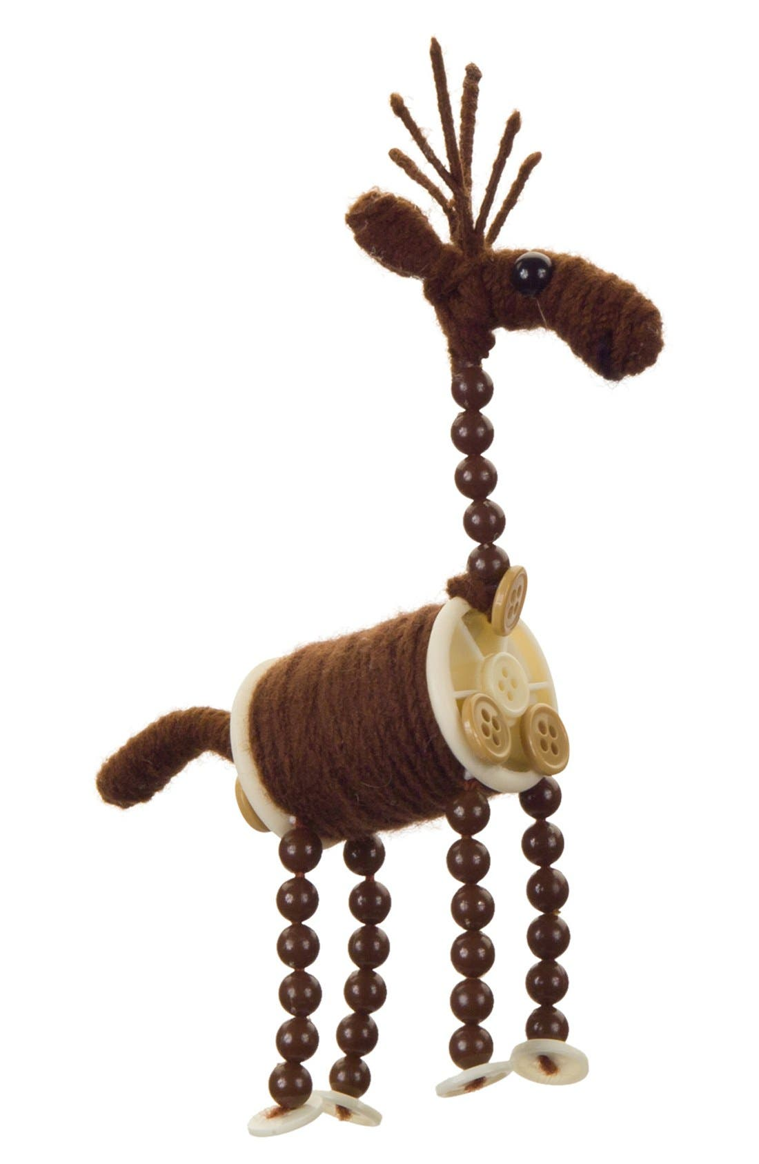 Alternate Image 1 Selected - Melrose Gifts Knitting Spool Deer Ornament