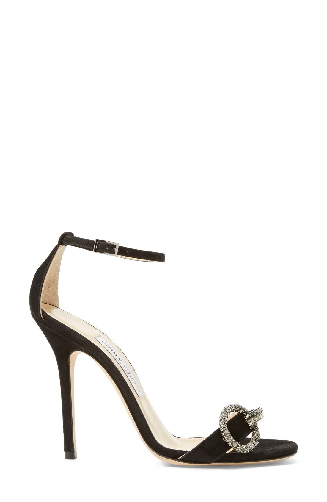 Alternate Image 2  - Jimmy Choo 'Tamsyn' Suede Sandal (Women)