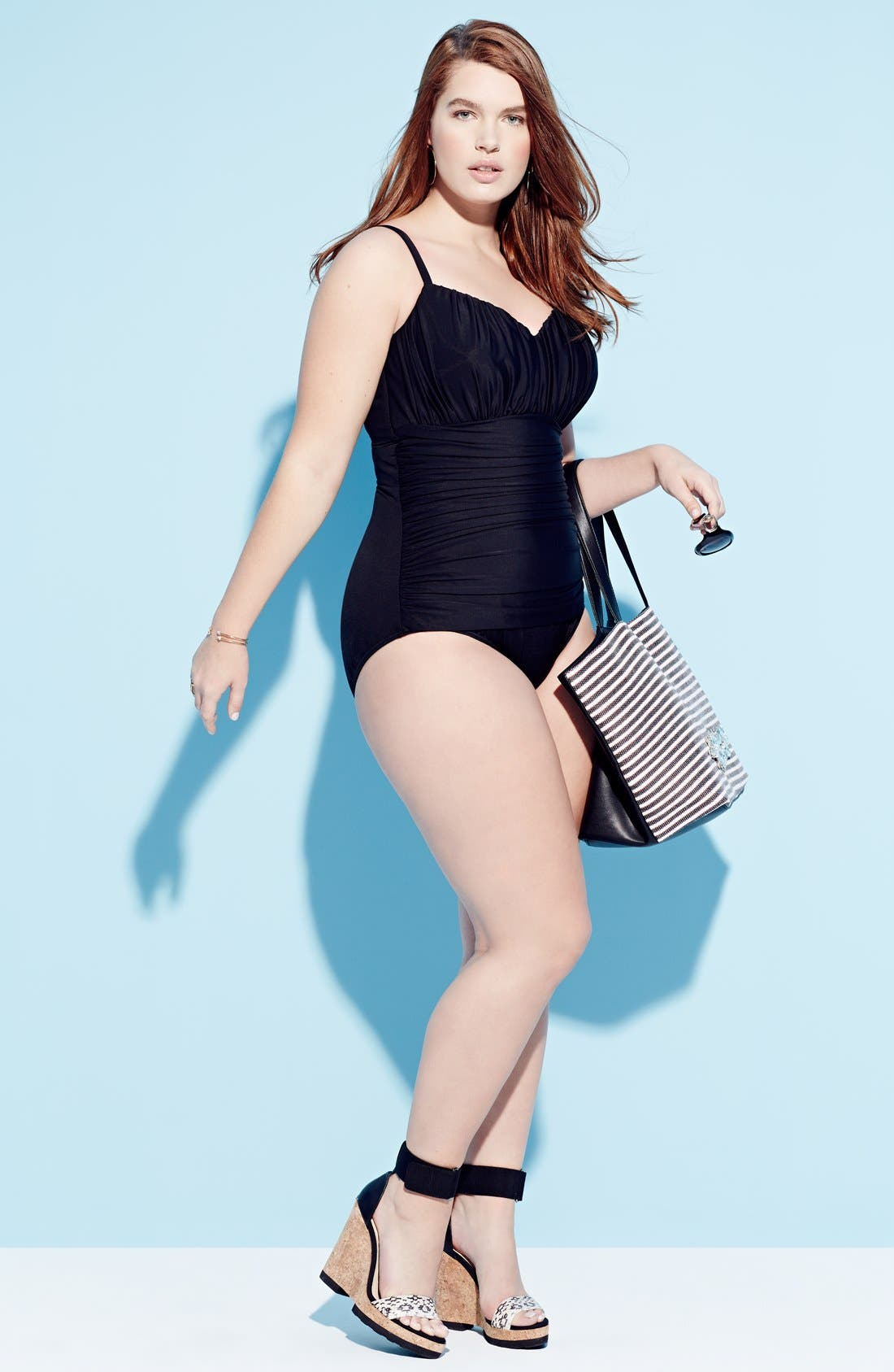 Alternate Image 2  - Miraclesuit® 'Rialto' One-Piece Swimsuit (Plus Size)