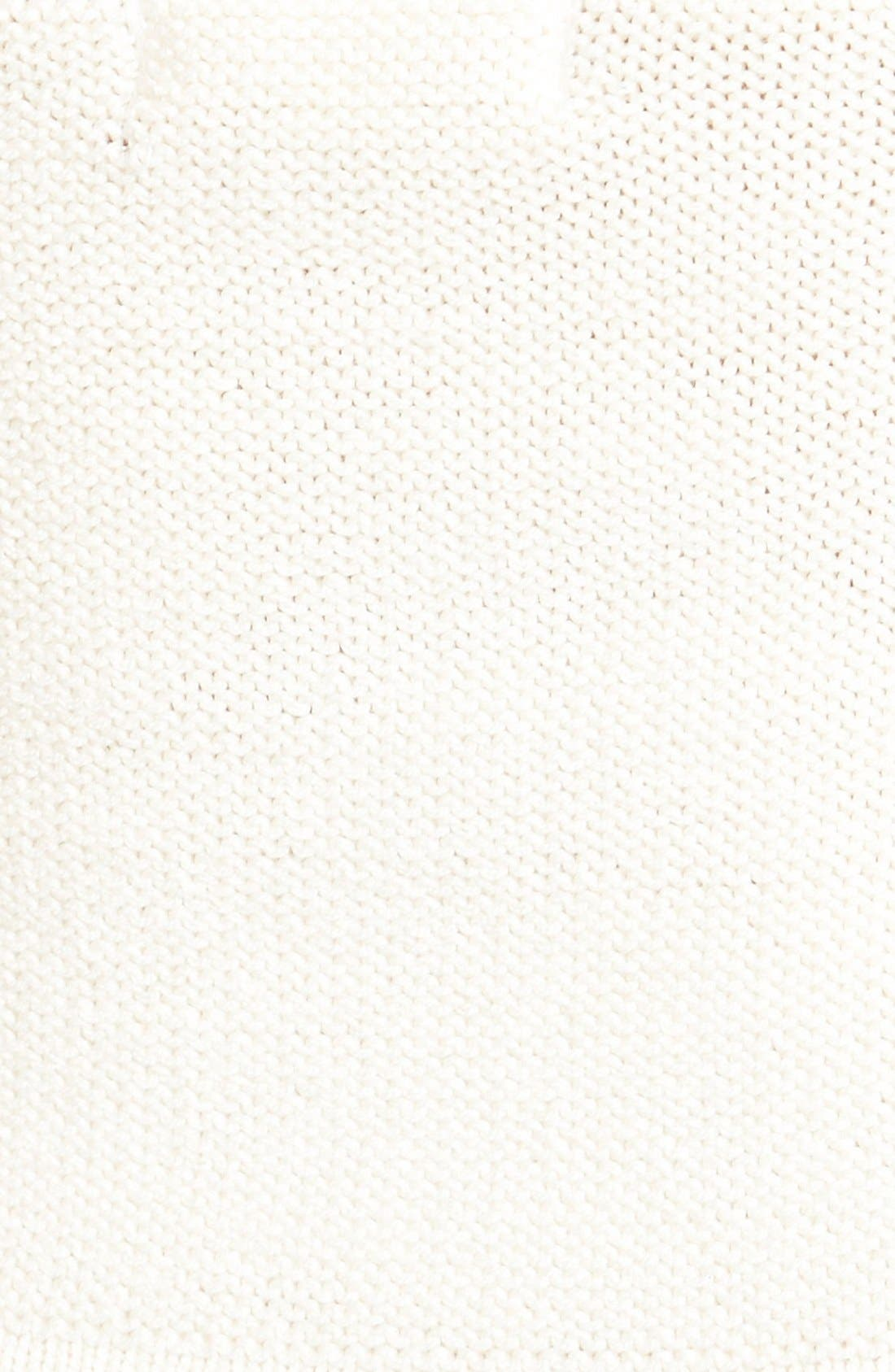 Alternate Image 3  - Coco & Jameson Crochet Halter Crop Top (Juniors)