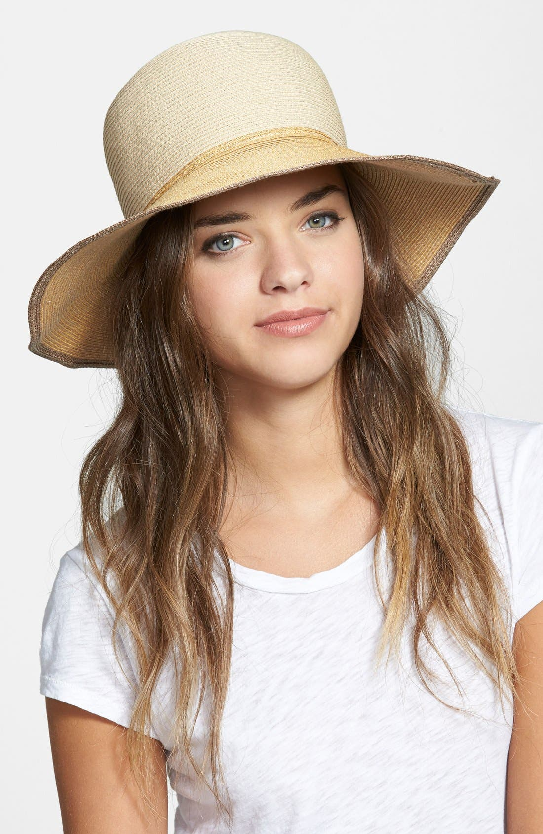 Alternate Image 1 Selected - rag & bone 'Lily' Straw Sun Hat