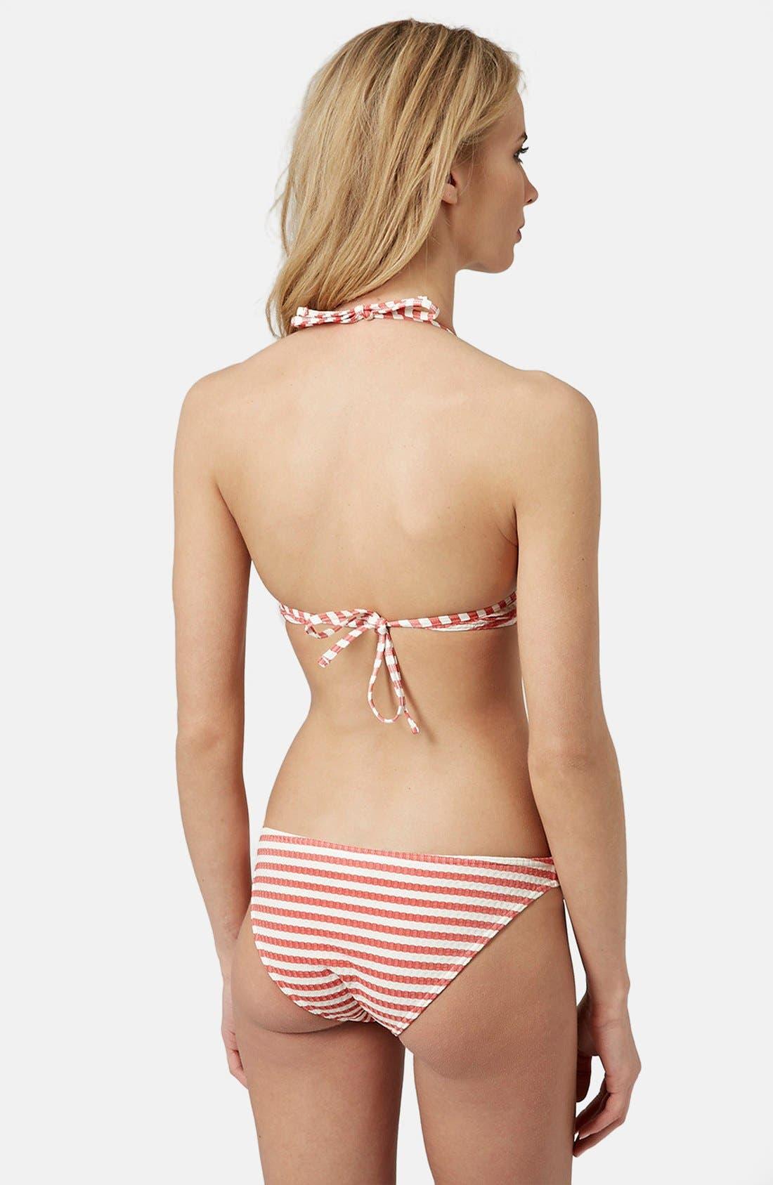 Alternate Image 2  - Topshop Seersucker Bikini