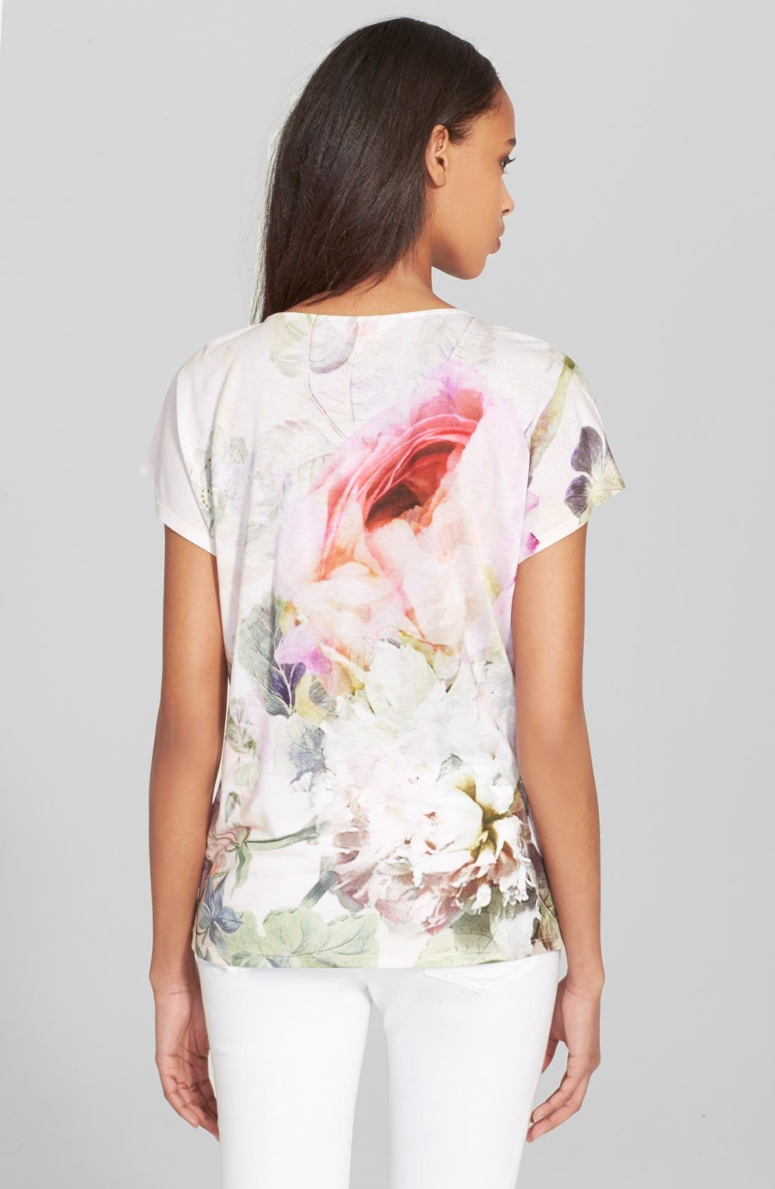 Alternate Image 2  - Ted Baker London 'Eamila Peony' Print Tee