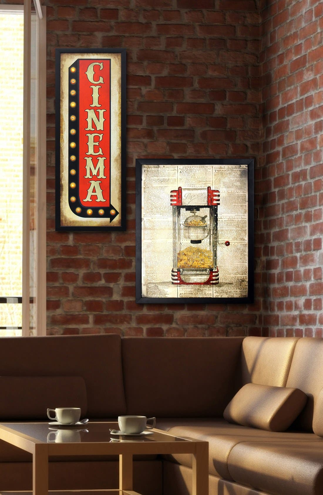 Alternate Image 5  - Crystal Art Gallery 'Cinema' LED Light-Up Marquee Sign