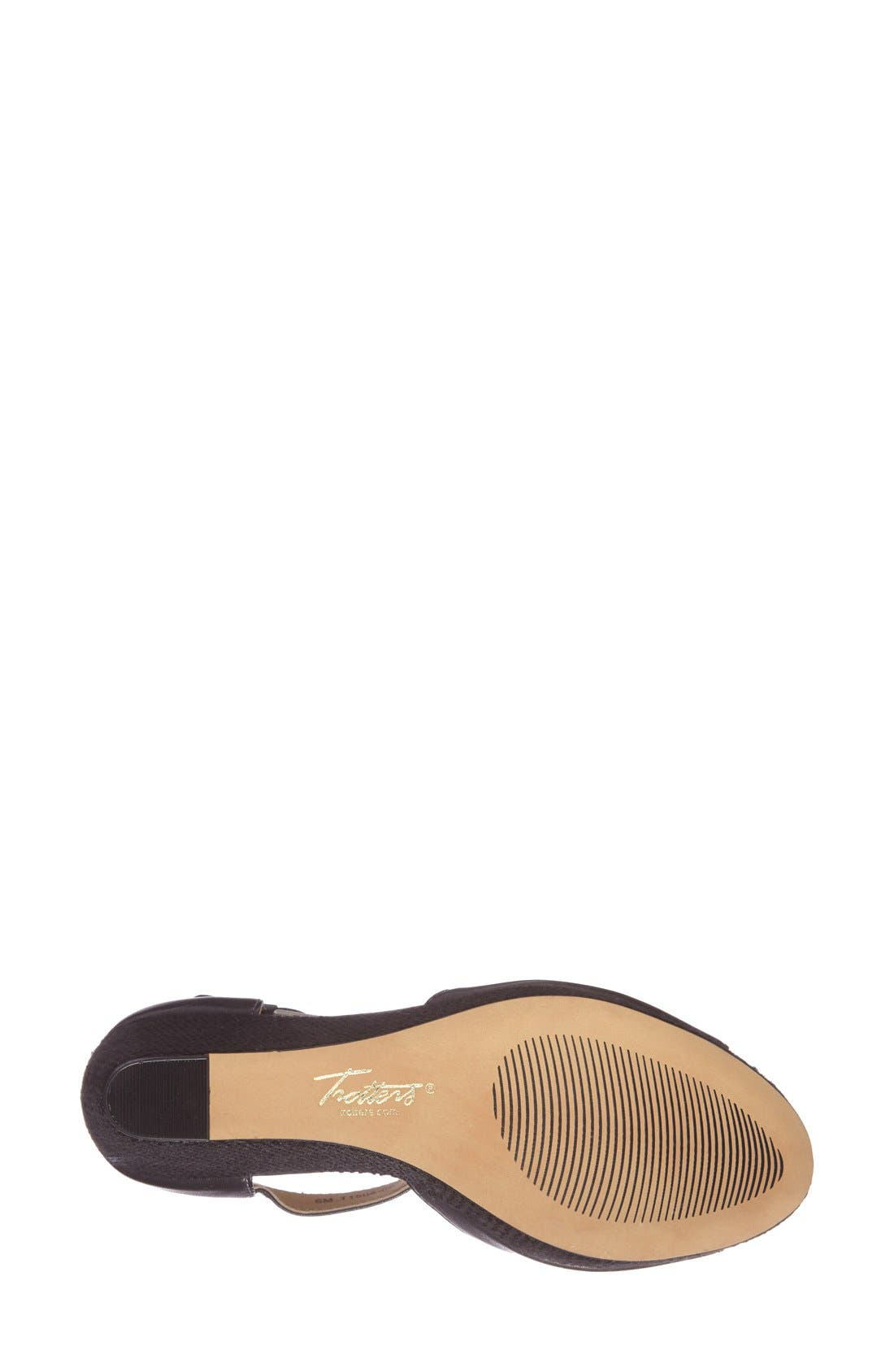 Alternate Image 4  - Trotters 'Amber' Wedge Sandal (Women)