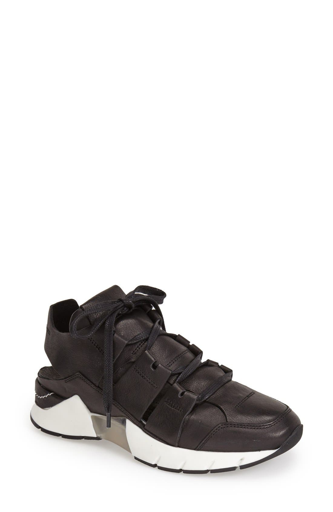 Alternate Image 1 Selected - CA by CINZIA ARAIA Cutout Leather Sneaker (Women)