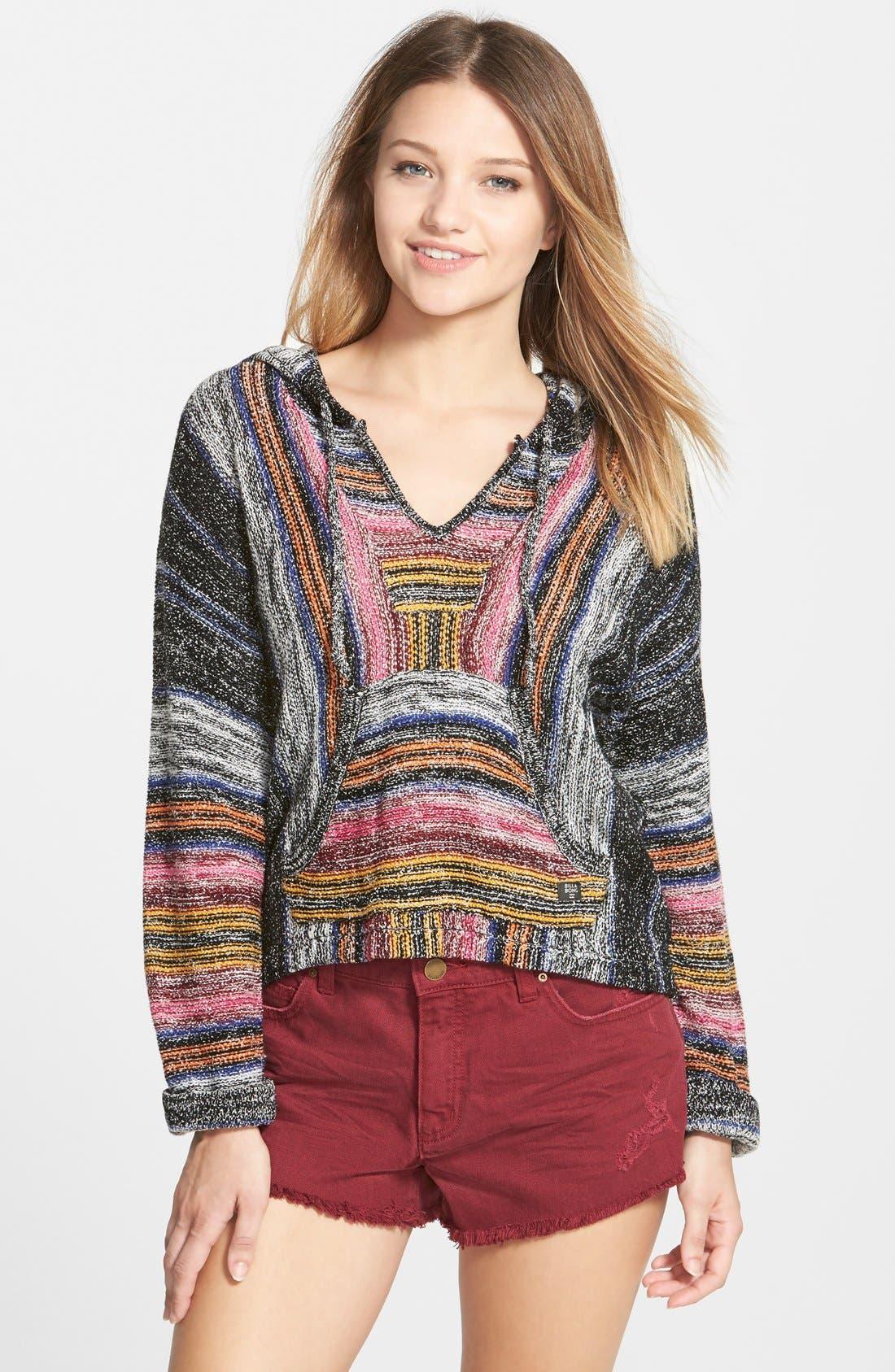 Alternate Image 1 Selected - Billabong 'Baja' Poncho Sweater