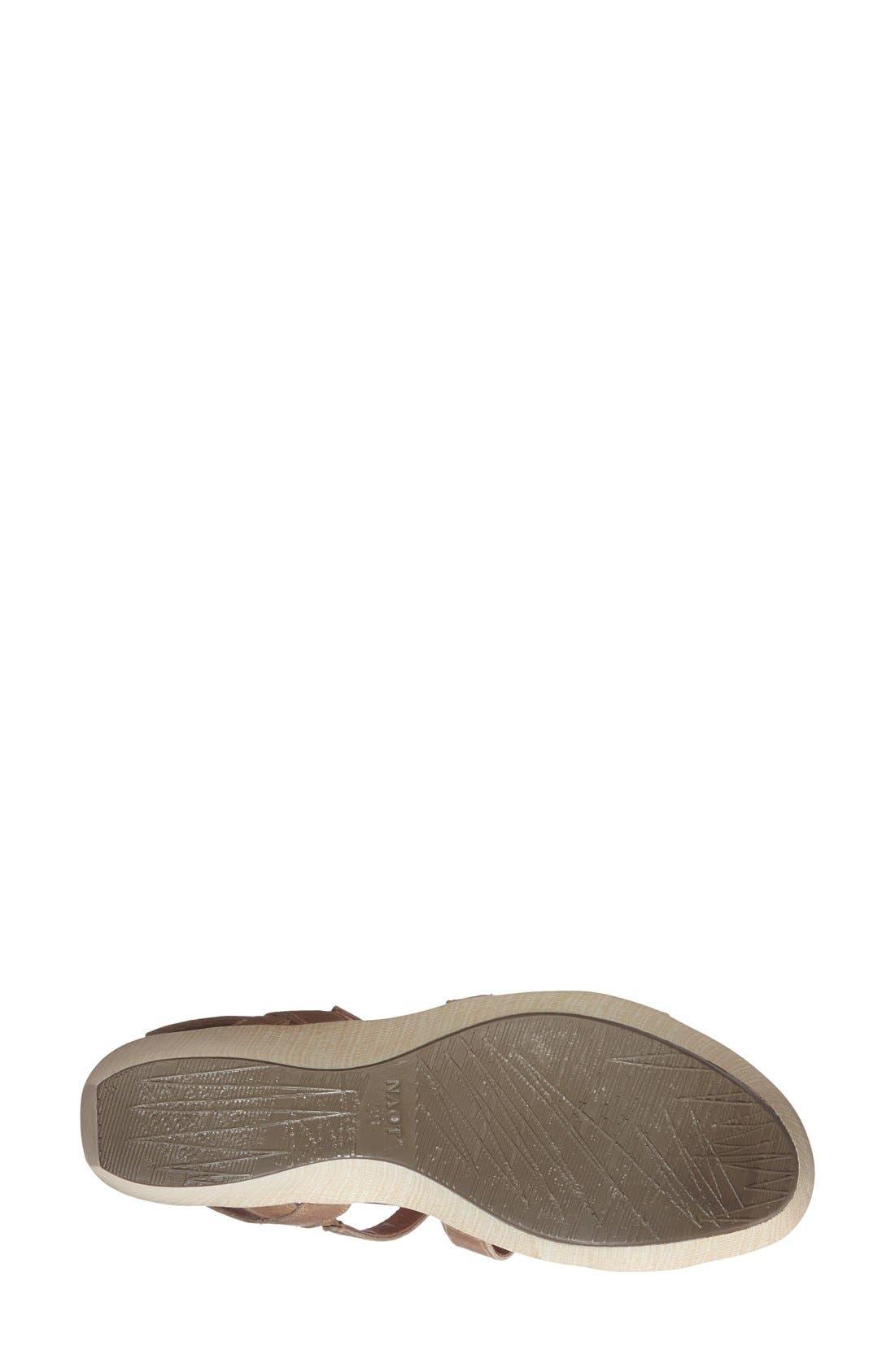Alternate Image 4  - Naot 'Mystery' Platform Wedge Sandal (Women)