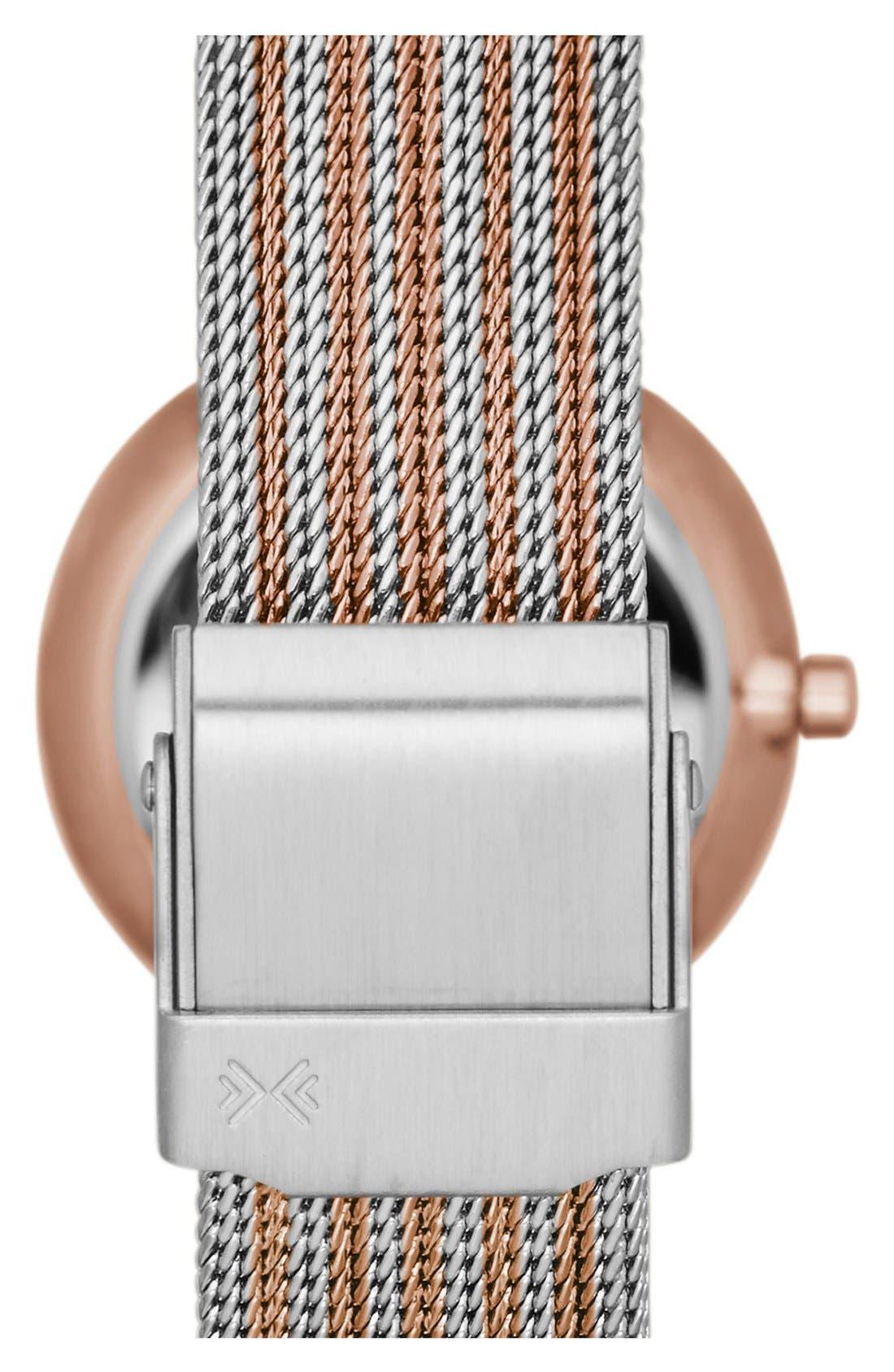 Alternate Image 2  - Skagen 'Freja' Mesh Strap Watch, 26mm (Nordstrom Online Exclusive)