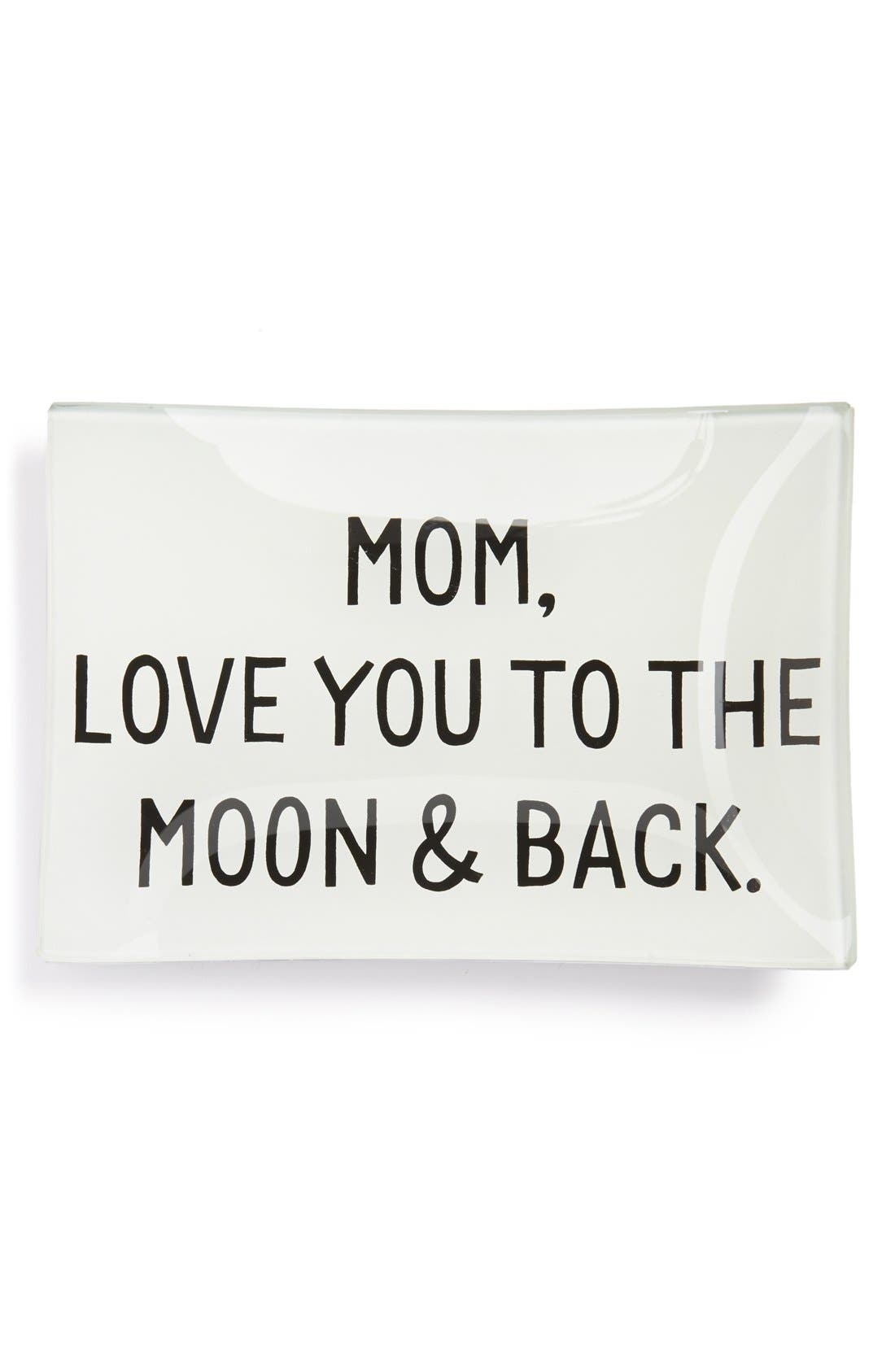 Alternate Image 1 Selected - Ben's Garden 'Mom, Love You to the Moon & Back' Trinket Tray