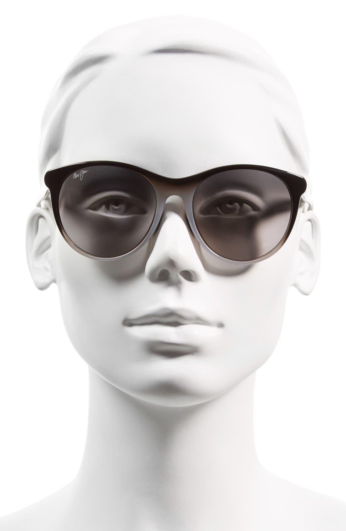 Alternate Image 2  - Maui Jim Mannikin 54mm PolarizedPlus® Cat Eye Sunglasses
