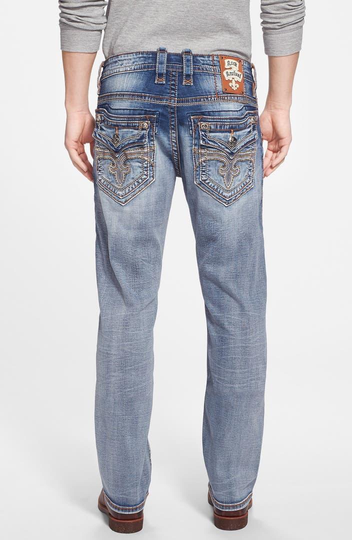 Rock Revival Straight Leg Jeans (Kaejon) (Online Only) | Nordstrom