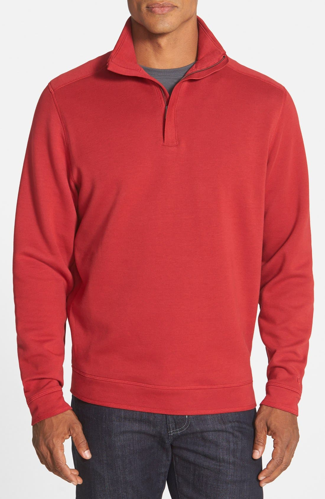 Cutter & Buck 'Decatur' Quarter Zip Pullover (Online Only)
