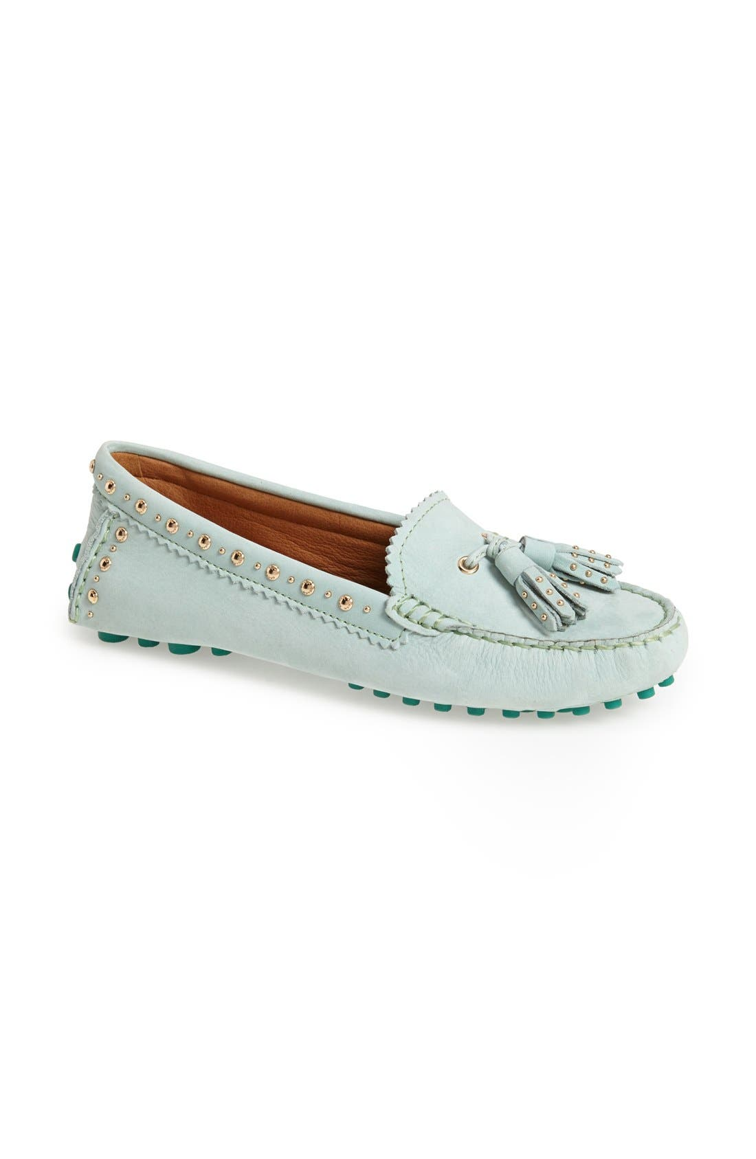 Alternate Image 1 Selected - COACH 'Norfolk' Leather Driving Loafer (Women)