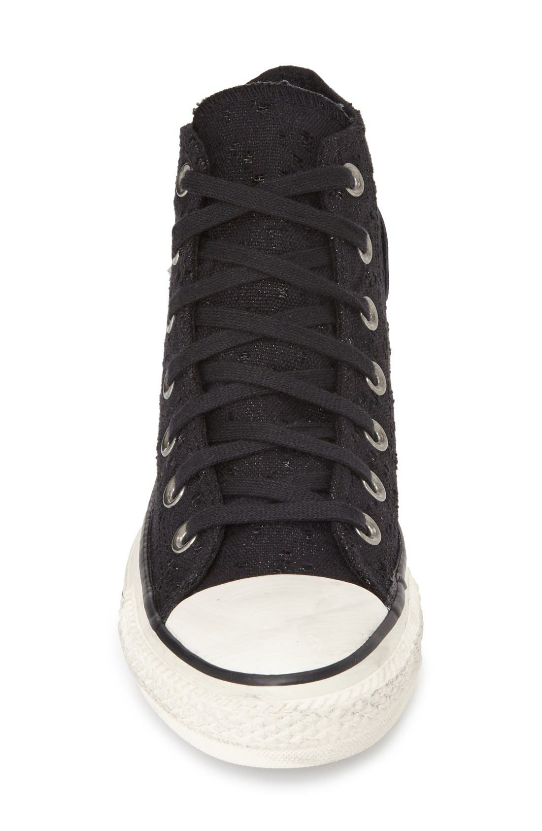 Alternate Image 3  - Converse Chuck Taylor® All Star® 'Star Hardware' High Top Sneaker (Women)