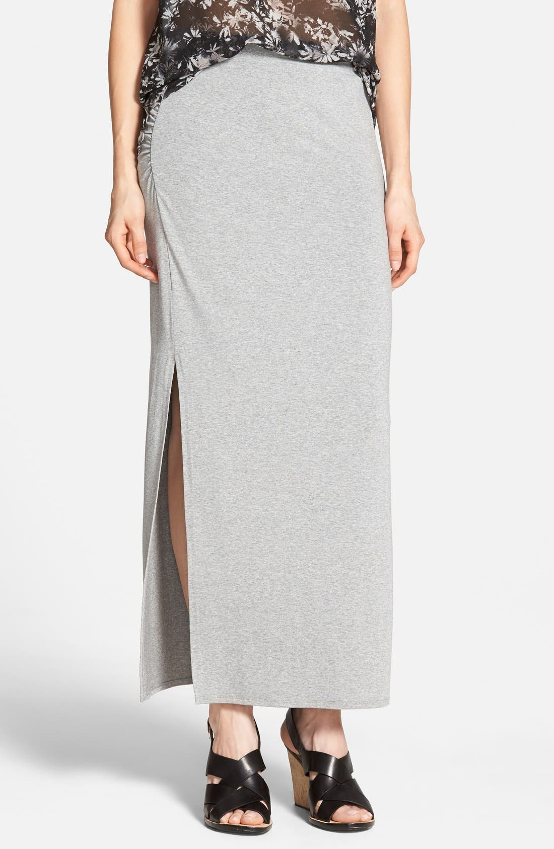 Alternate Image 1 Selected - Vince Camuto Side Slit Maxi Skirt