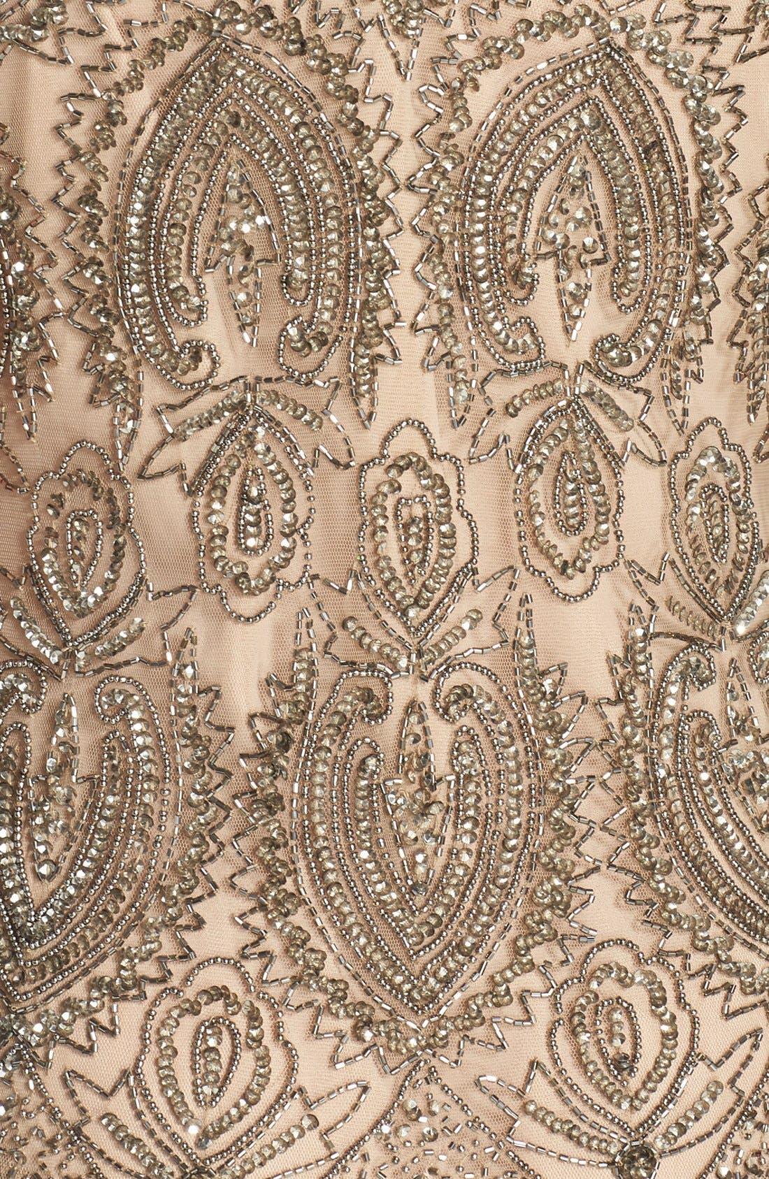 Alternate Image 4  - Pisarro Nights Embellished Mesh Dress & Jacket