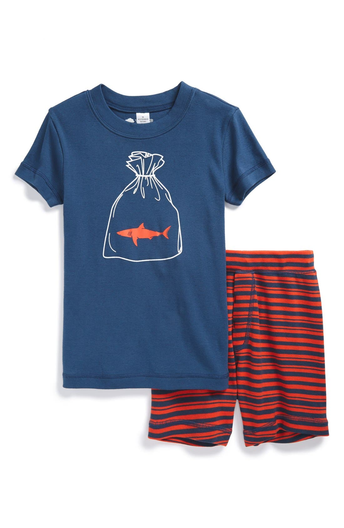 Main Image - Tucker + Tate Two-Piece Fitted Pajamas (Toddler Boys, Little Boys & Big Boys)