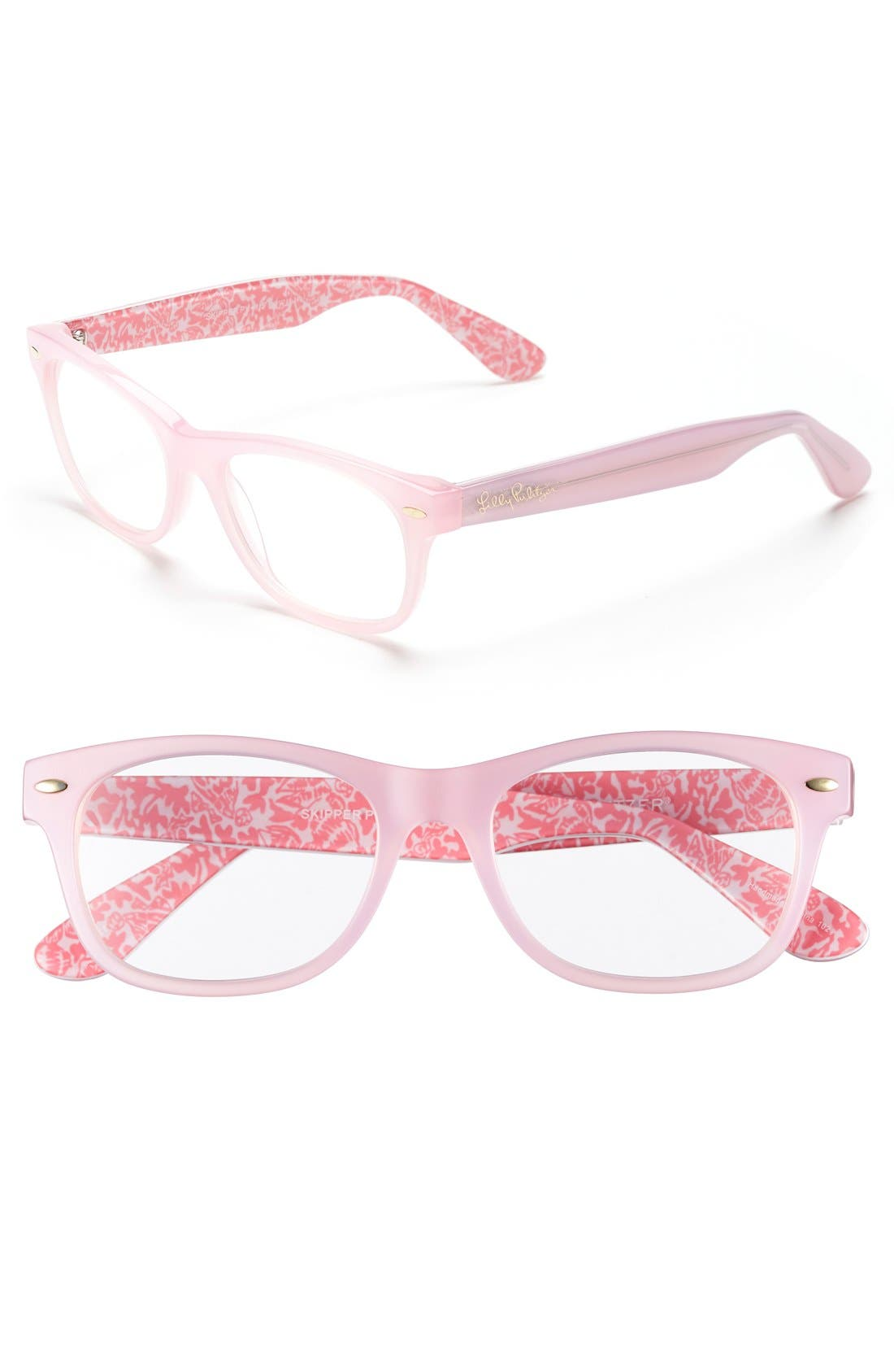 Alternate Image 1 Selected - Lilly Pulitzer® 'Skipper' 51mm Reading Glasses