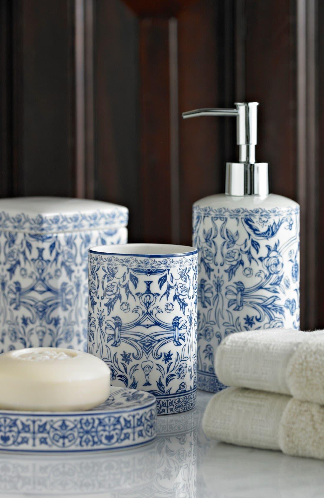 Alternate Image 2  - KASSATEX 'Orsay' Porcelain Tray