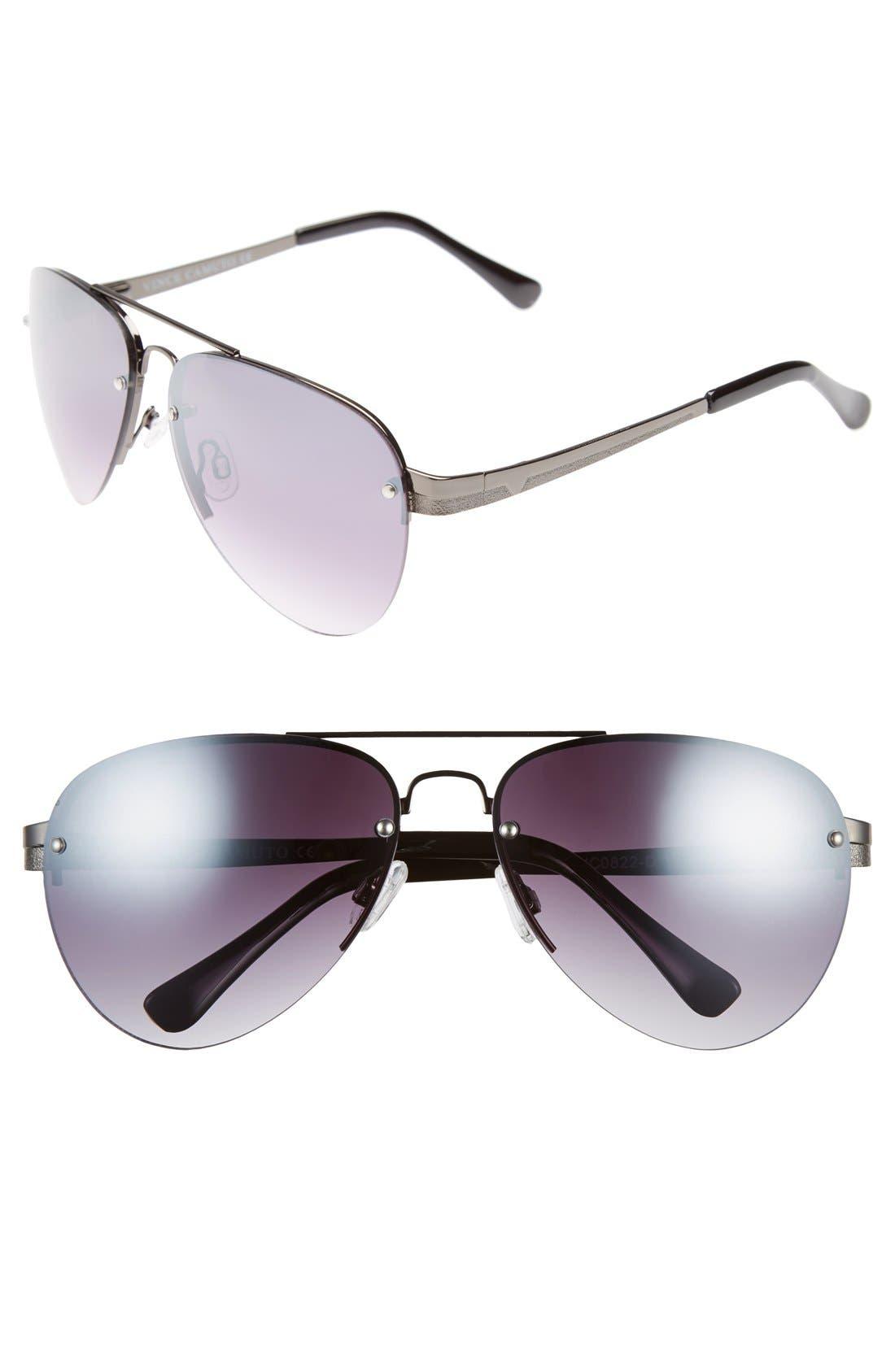 Main Image - Vince Camuto 62mm Aviator Sunglasses