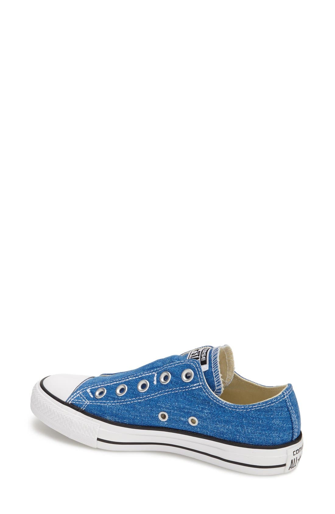 Alternate Image 2  - Converse Chuck Taylor® All Star® 'Washed' Slip-On (Women)