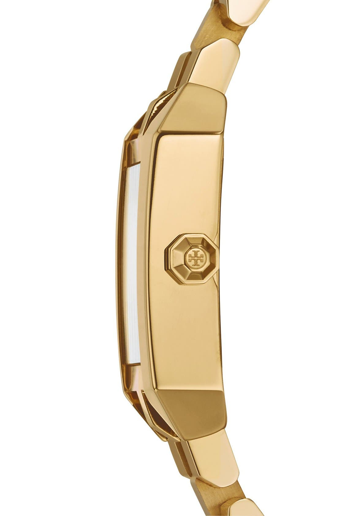 Alternate Image 3  - Tory Burch 'Dalloway' Bracelet Watch, 23mm x 35mm