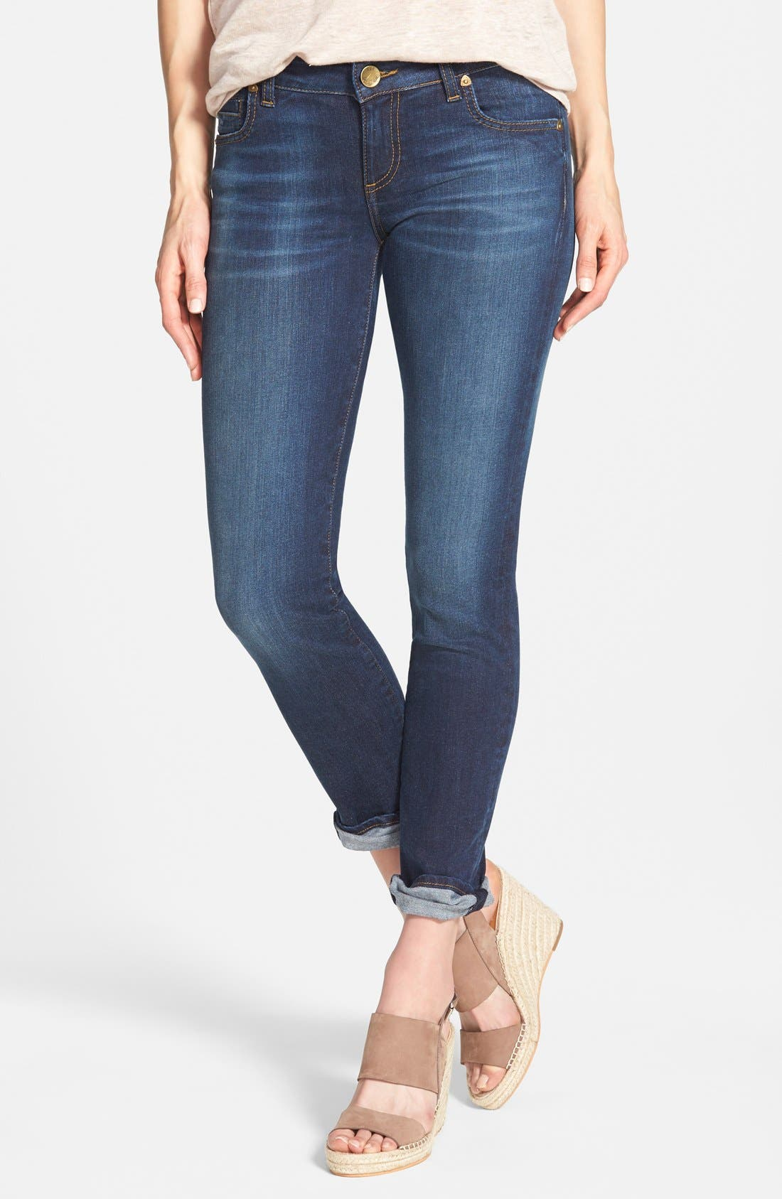 Alternate Image 1 Selected - KUT from the Kloth 'Catherine' Boyfriend Jeans (Easily) (Regular & Petite)