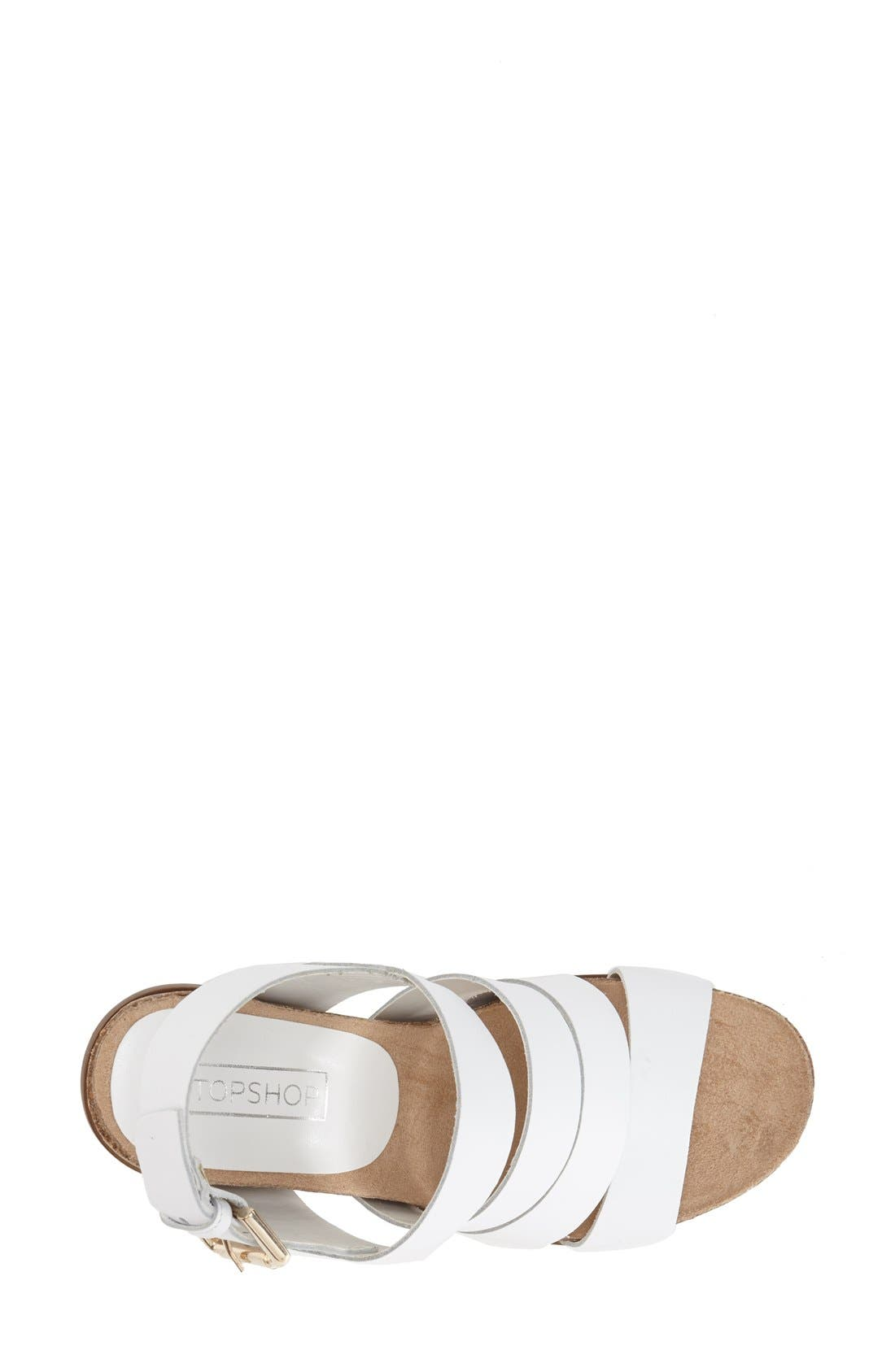 Alternate Image 3  - Topshop 'Nickname' Sandal (Women)
