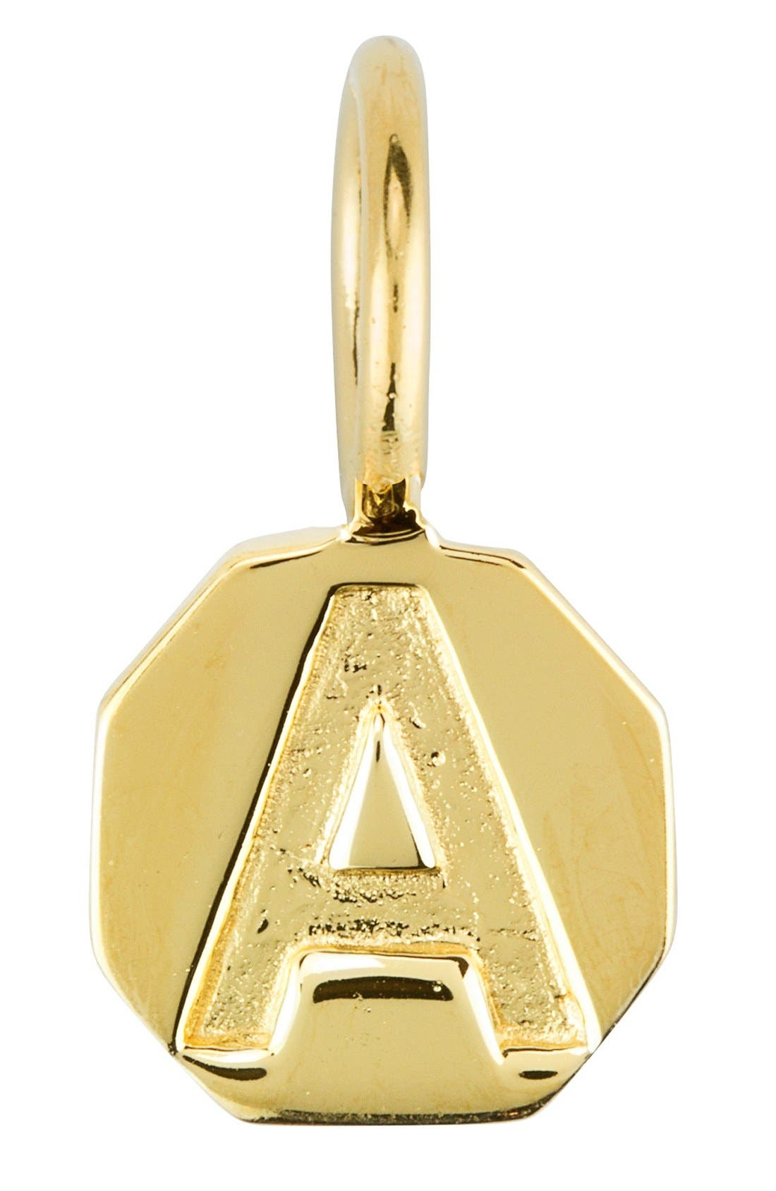 Alternate Image 1 Selected - Baroni Stamped Initial Charm