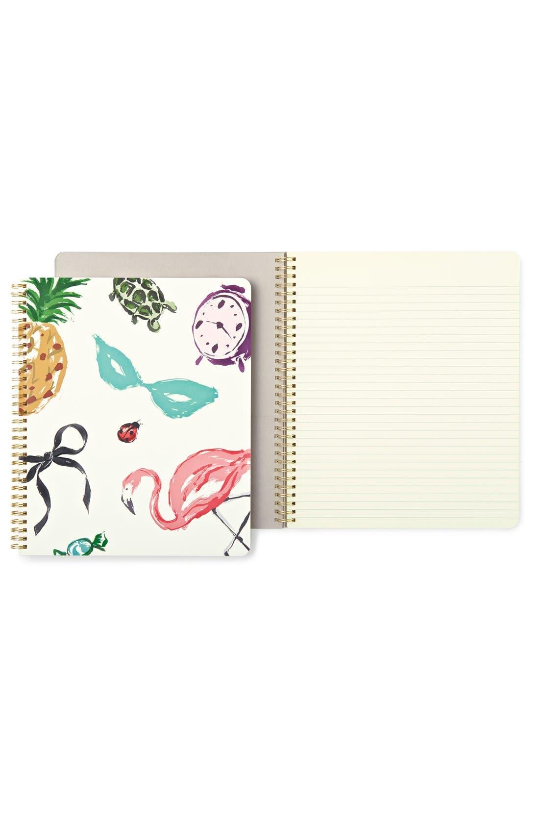 Alternate Image 1 Selected - kate spade new york 'favorite things' notebook
