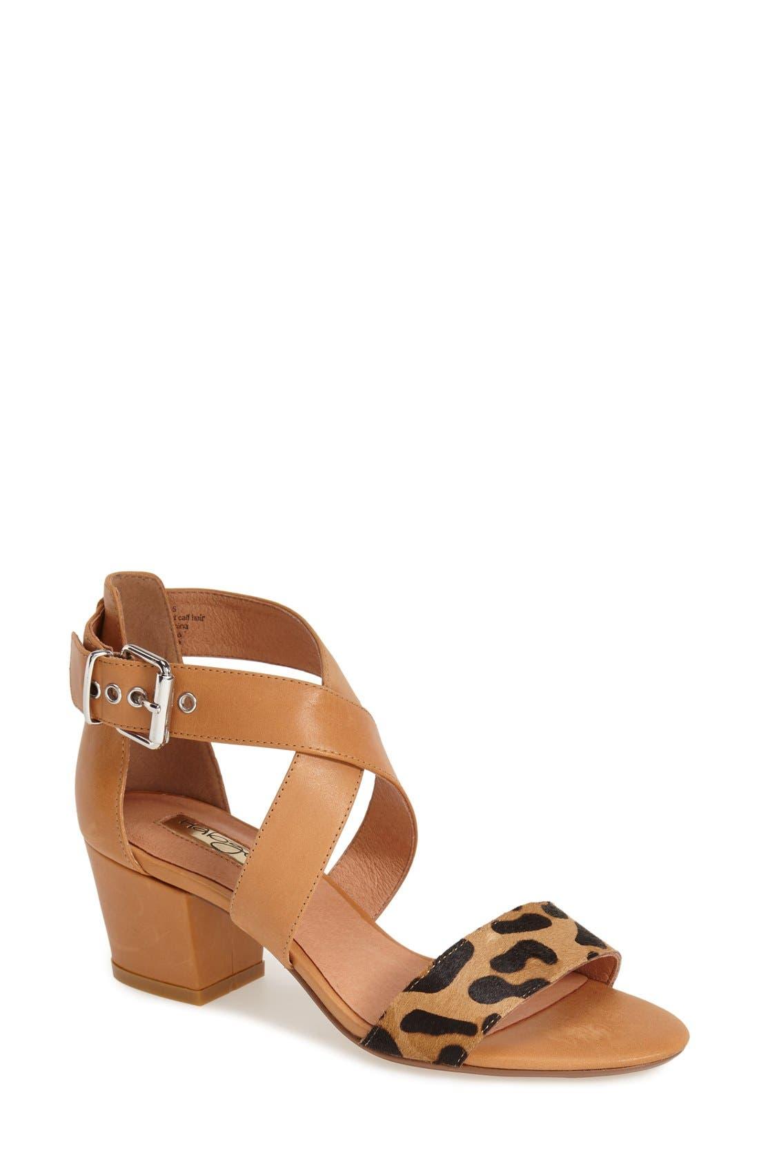 Main Image - Halogen 'Rena' Crisscross Strap Sandal (Women)