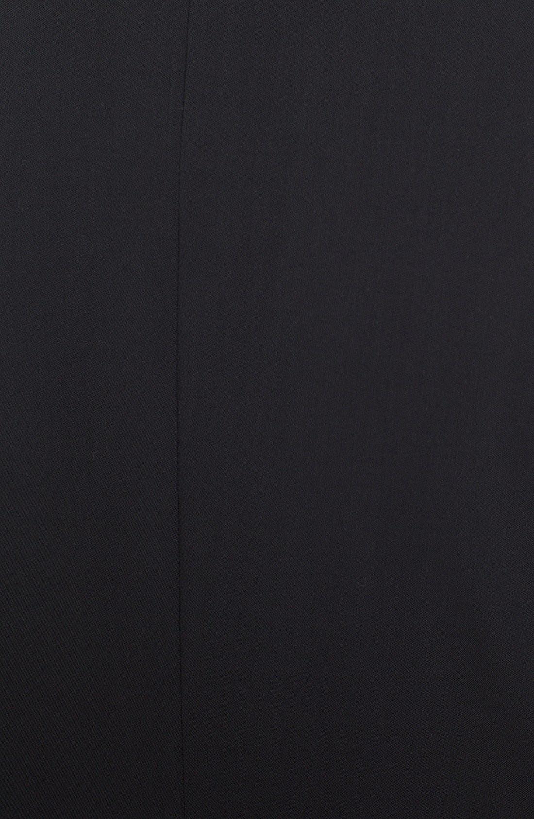 Alternate Image 3  - Armani Collezioni Single Button Wool Jacket
