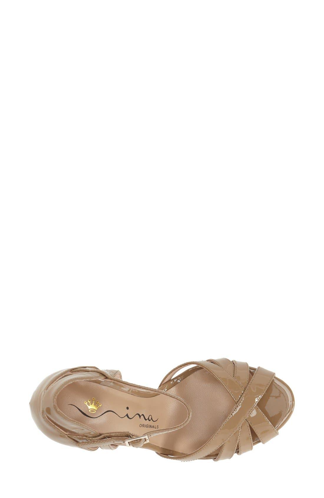 Alternate Image 3  - Nina Originals 'Senora' Ankle Strap Sandal (Women)