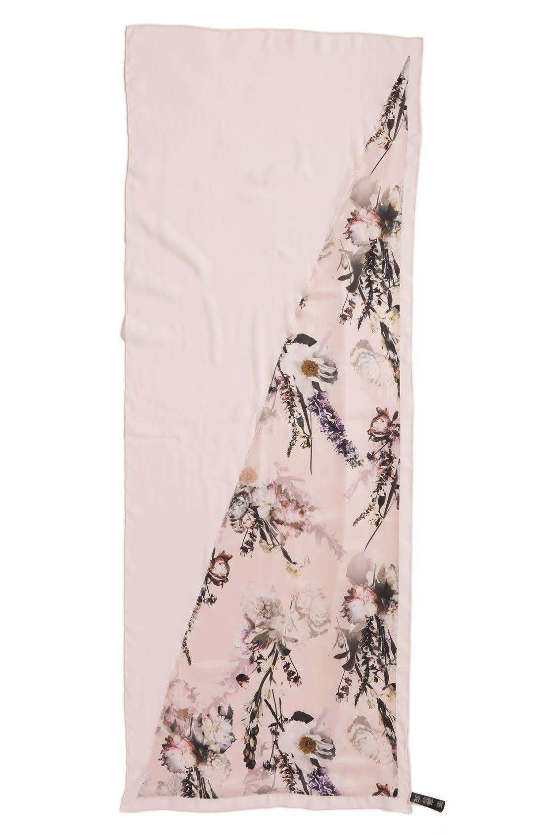 Alternate Image 2  - Ted Baker London 'Torchlit Floral' Silk & Modal Scarf