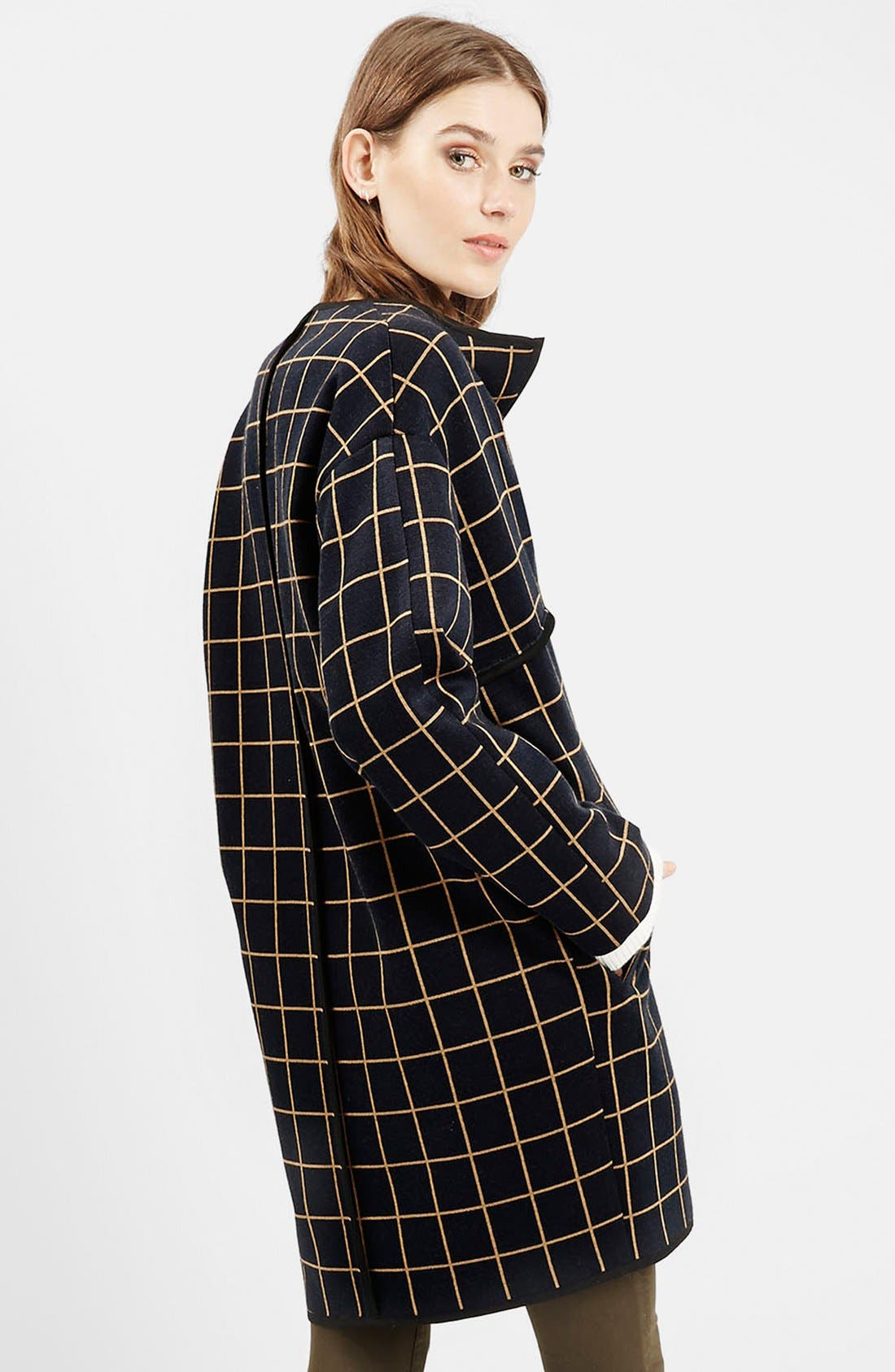Alternate Image 3  - Topshop Check Topper (Nordstrom Exclusive)