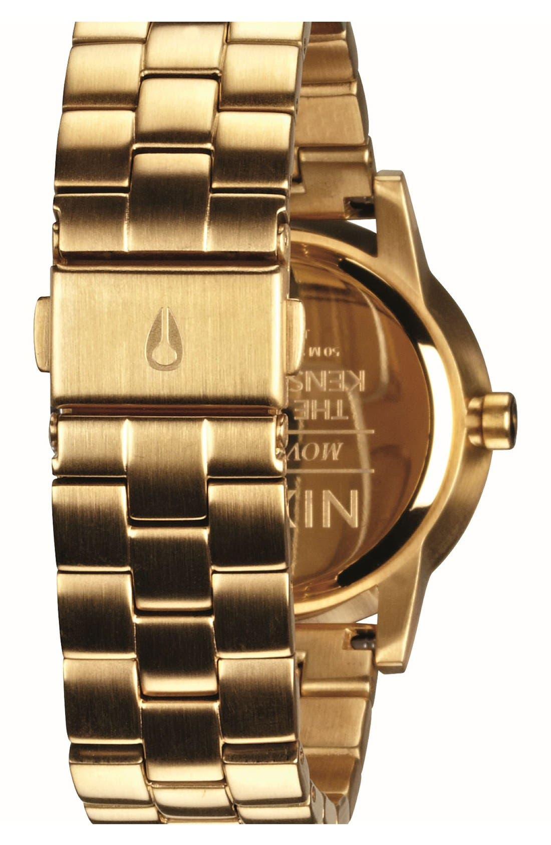 Alternate Image 5  - Nixon 'The Small Kensington' Bracelet Watch, 30mm