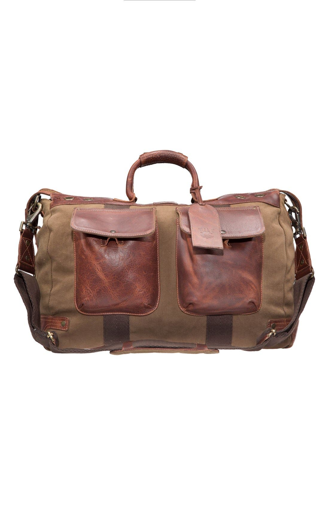 WILL LEATHER GOODS Traveler Duffel Bag