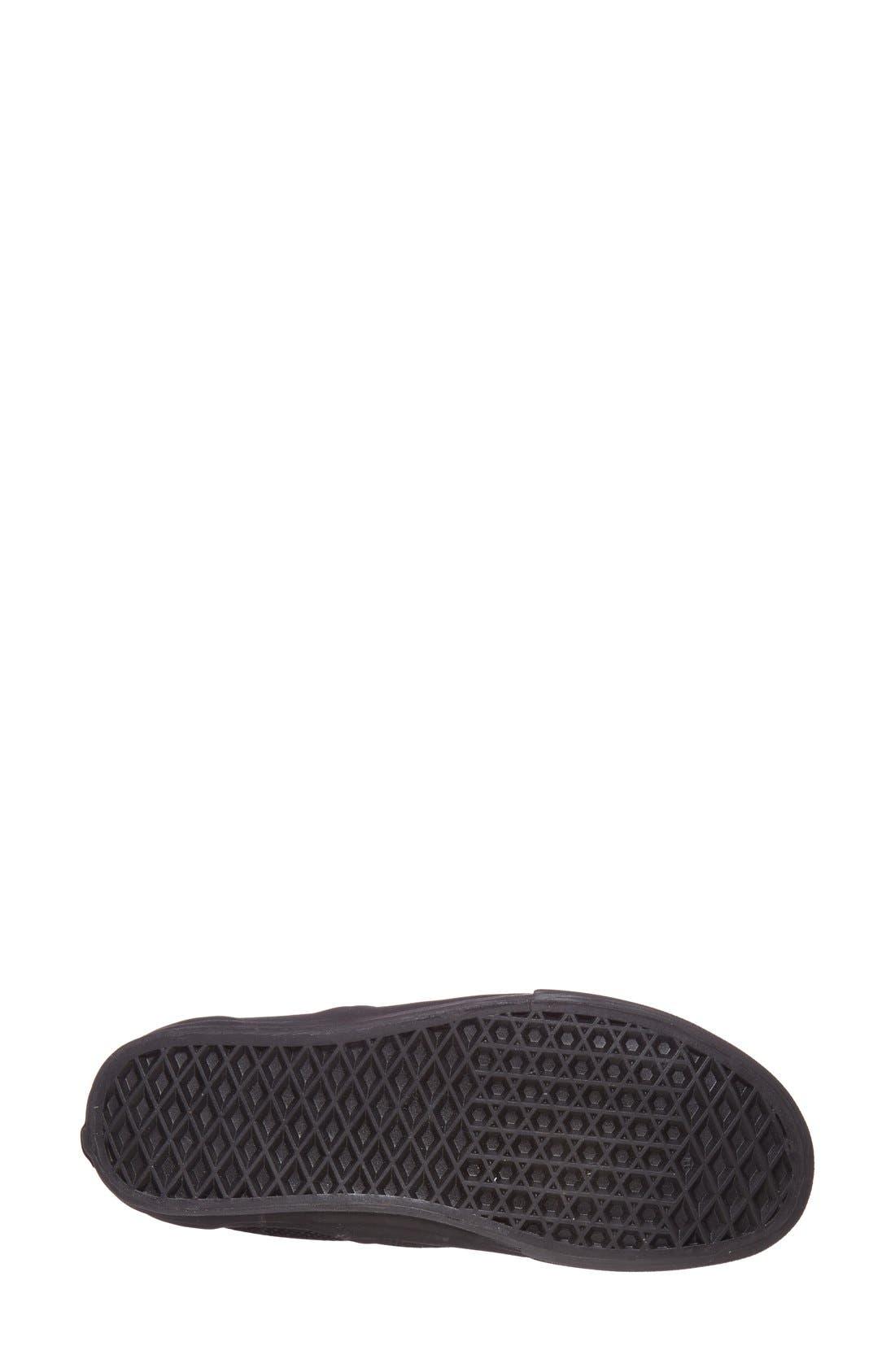 Alternate Image 4  - Vans 'Classic - Perforated' Slip-On Sneaker (Women)
